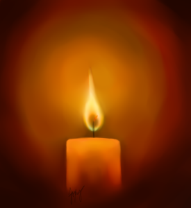 candle_speed_paint_by_xofoxygirlox-d4lvvpj